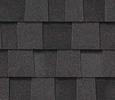 Black Asphalt shingle