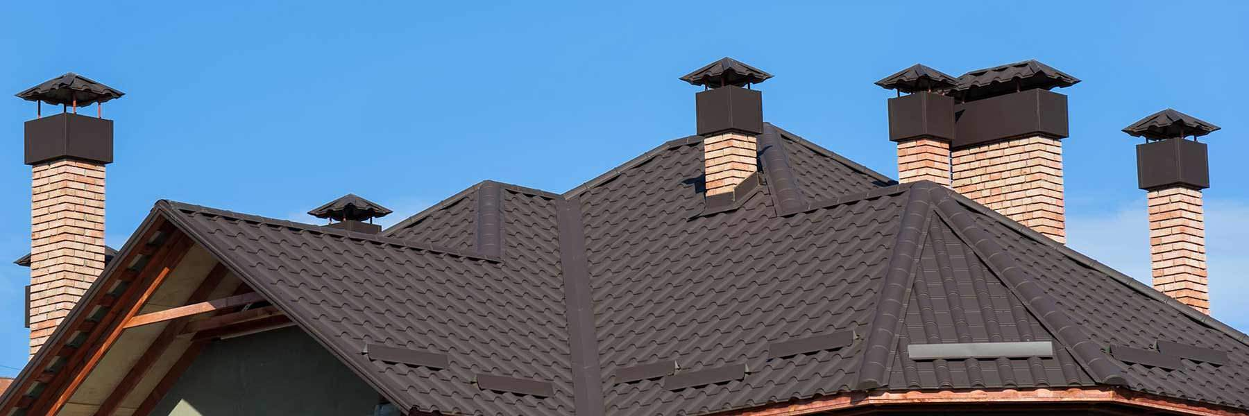 Black Concrete Roof