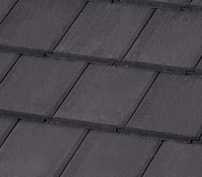 Saxony Black Concrete Tile