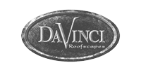 DaVinci Black and white logo