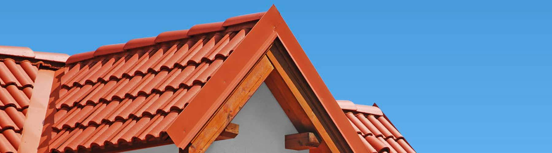 Clay Tiled House Roof