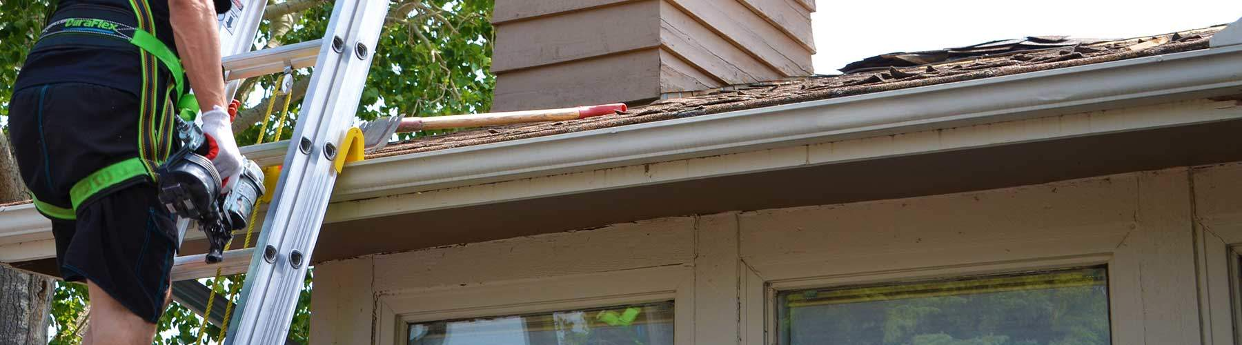 Fixing the soffit