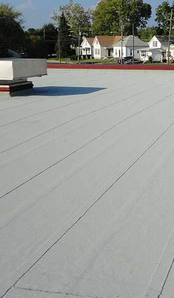 Flat Roof Cold Application