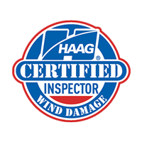 Haag Certified Wind Damage Roof Repair Inspection