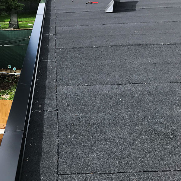 Finished Flat Roof
