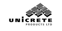 Unicrete Concrete Tile Roofing logo bw