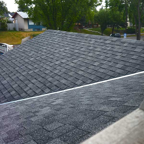 Visual roof inspection